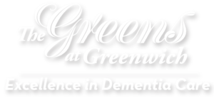White, The Greens at Greenwich, Excellence in Dementia Care Logo